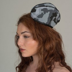 Urban camouflage forage cap  - side