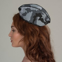Urban camouflage forage cap - flank