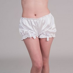White satin bloomers
