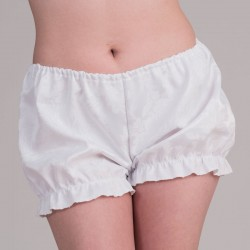 White jacquard bloomers - front