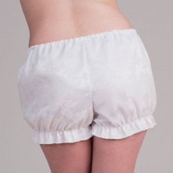White jacquard bloomers -back