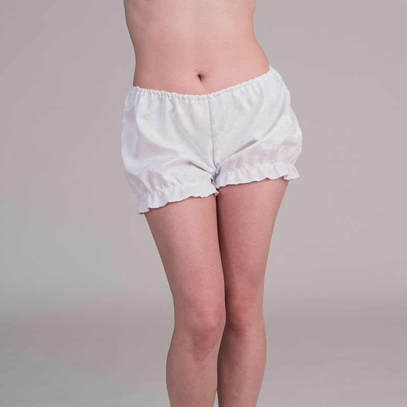 White jacquard bloomers