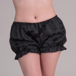 Black jacquard bloomers - front
